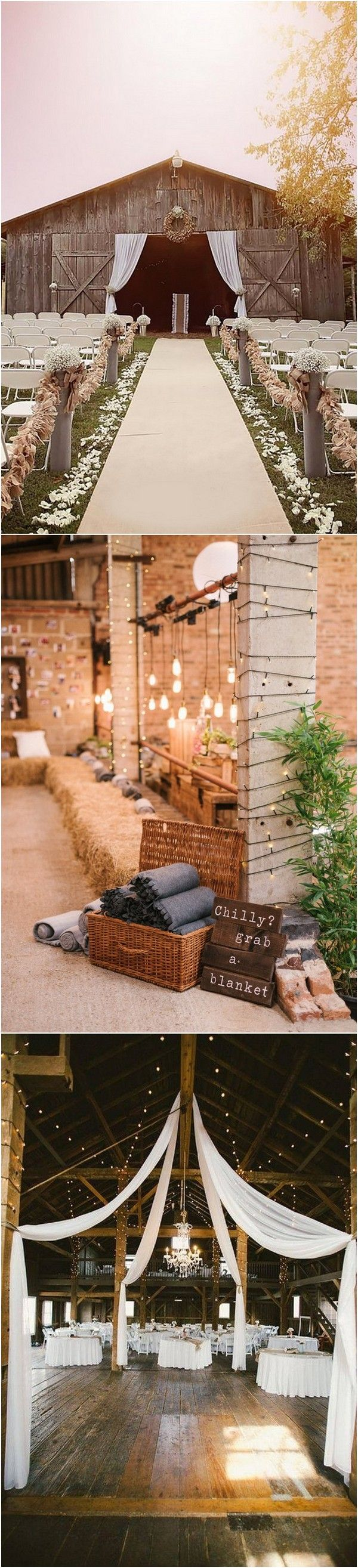 Simple wedding decoration designs   Perfect Country Rustic Barn Wedding Decoration Ideas  Page  of