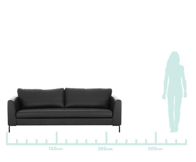 Leder Sofa Luna 3 Sitzer Sofa Furniture Couch