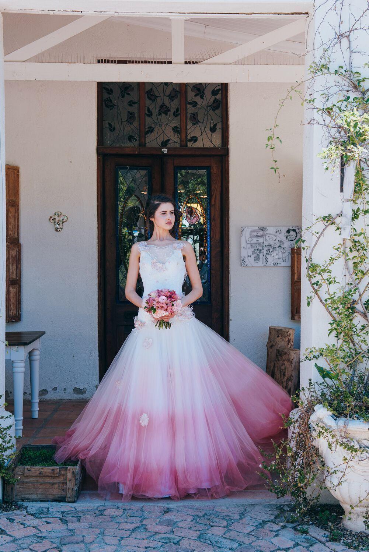 Pastel Wedding Inspiration By Lauren Pretorius Pink Wedding Dresses Pastel Wedding Dresses Dip Dye Wedding Dress [ 1500 x 1001 Pixel ]