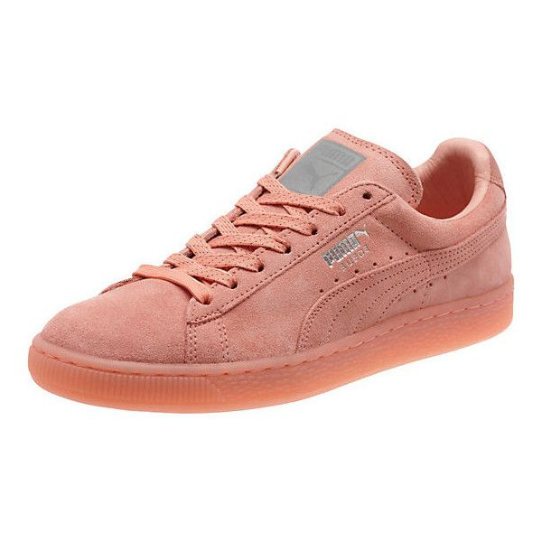 0448a2a0a73 Puma Suede Classic Mono Iced Women s Sneakers ( 70) ❤ liked on Polyvore  featuring shoes