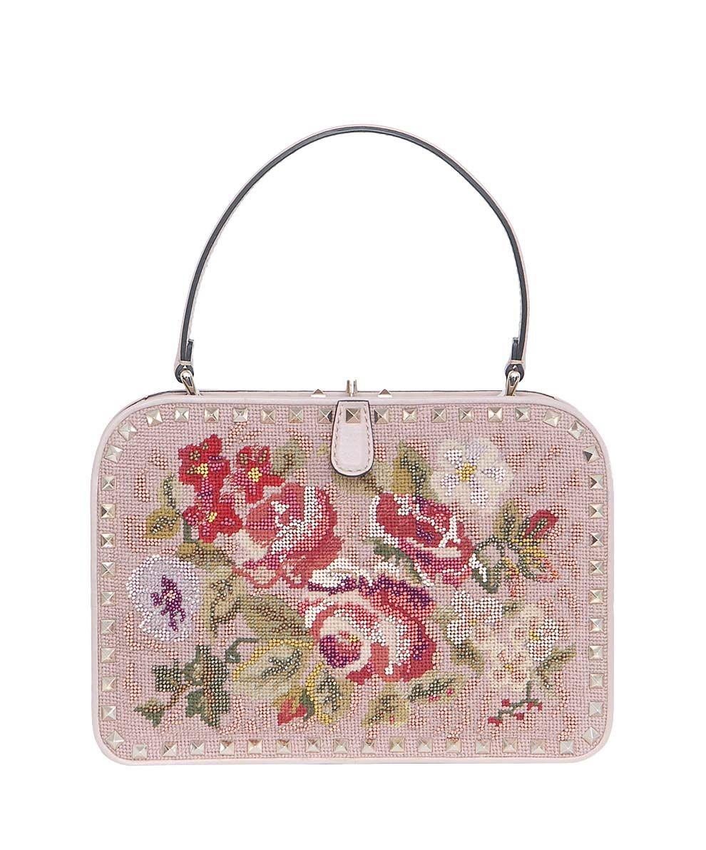 embroidered Rock Stud  bag  Valentino - lindelepalais.com
