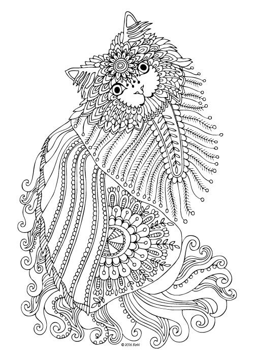 Kittens and Butterflies: Coloring Book by Katerina ...