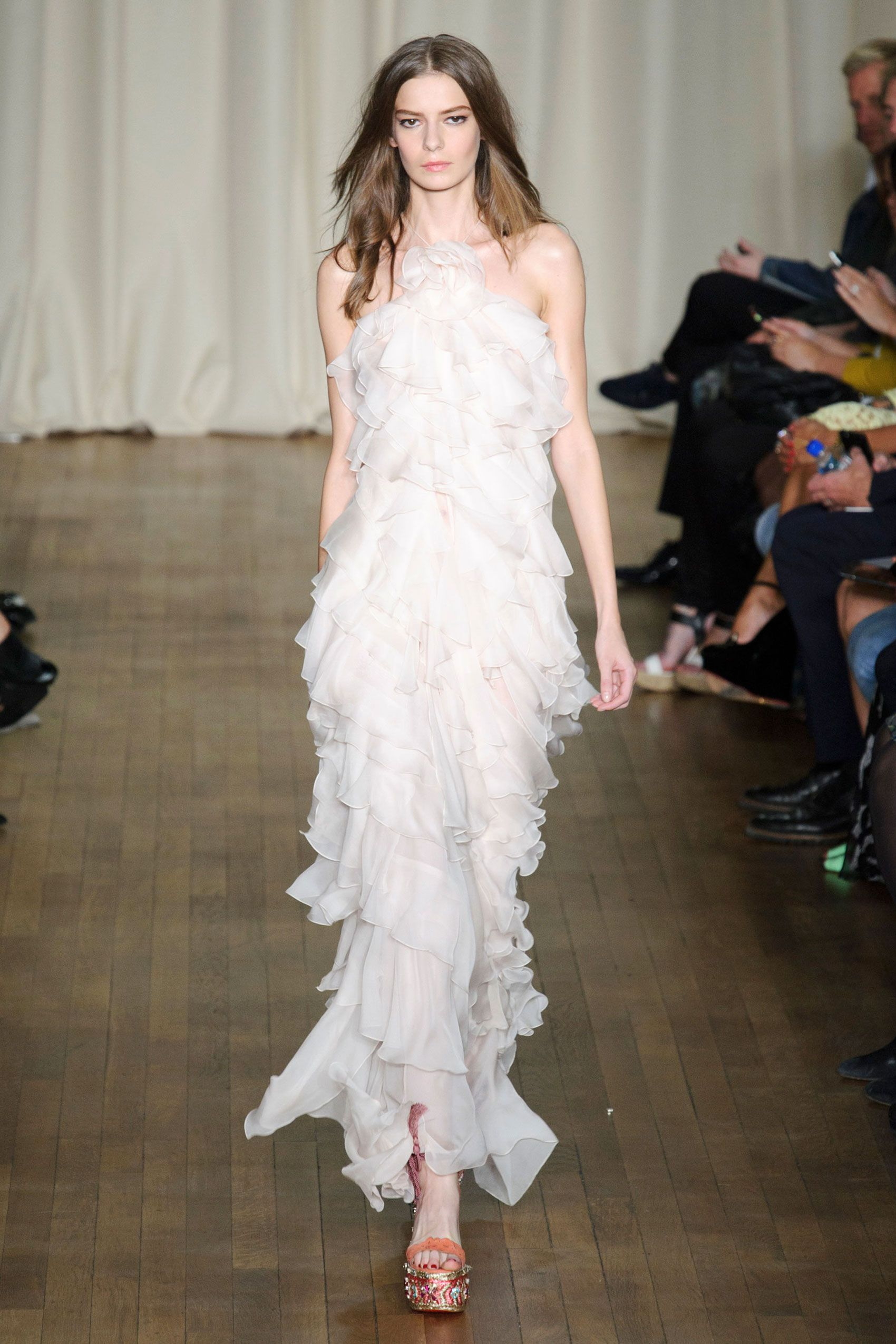 The best looks from london fashion week spring floral