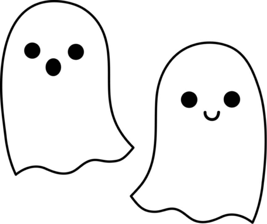 ghost outline clip art clipart panda free clipart images rh pinterest com  cute ghost clipart black and white