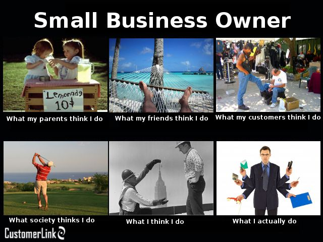 What does it mean to be a small business owner? Depends on who you ask...