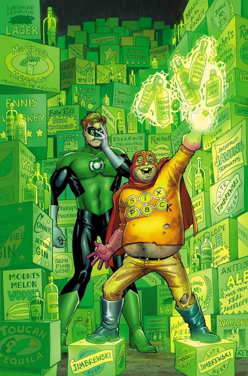 Section 8 2 Green Lantern By Amanda Conner Comics Dc Comics All Star