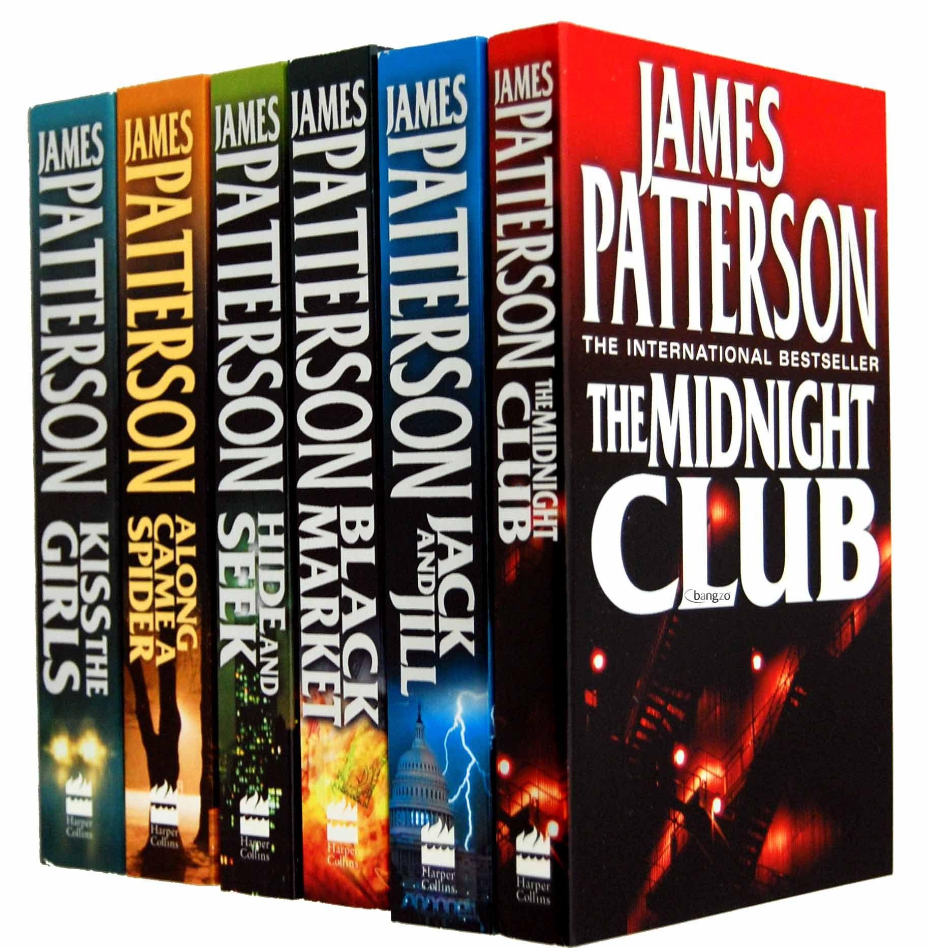 James Patterson Collection 6 Books Set Pack Alex Cross James Patterson Books James Patterson John Grisham Books