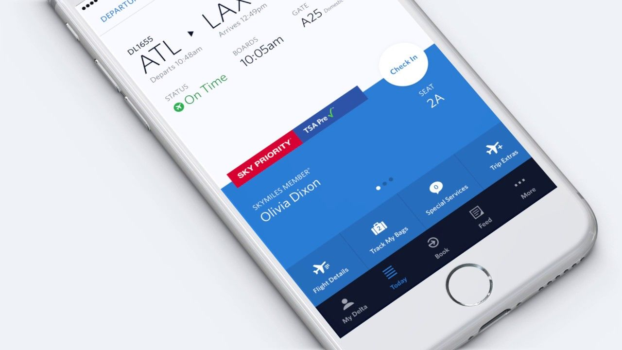New Delta App Tacks Your Baggage Delta airlines, Samsung