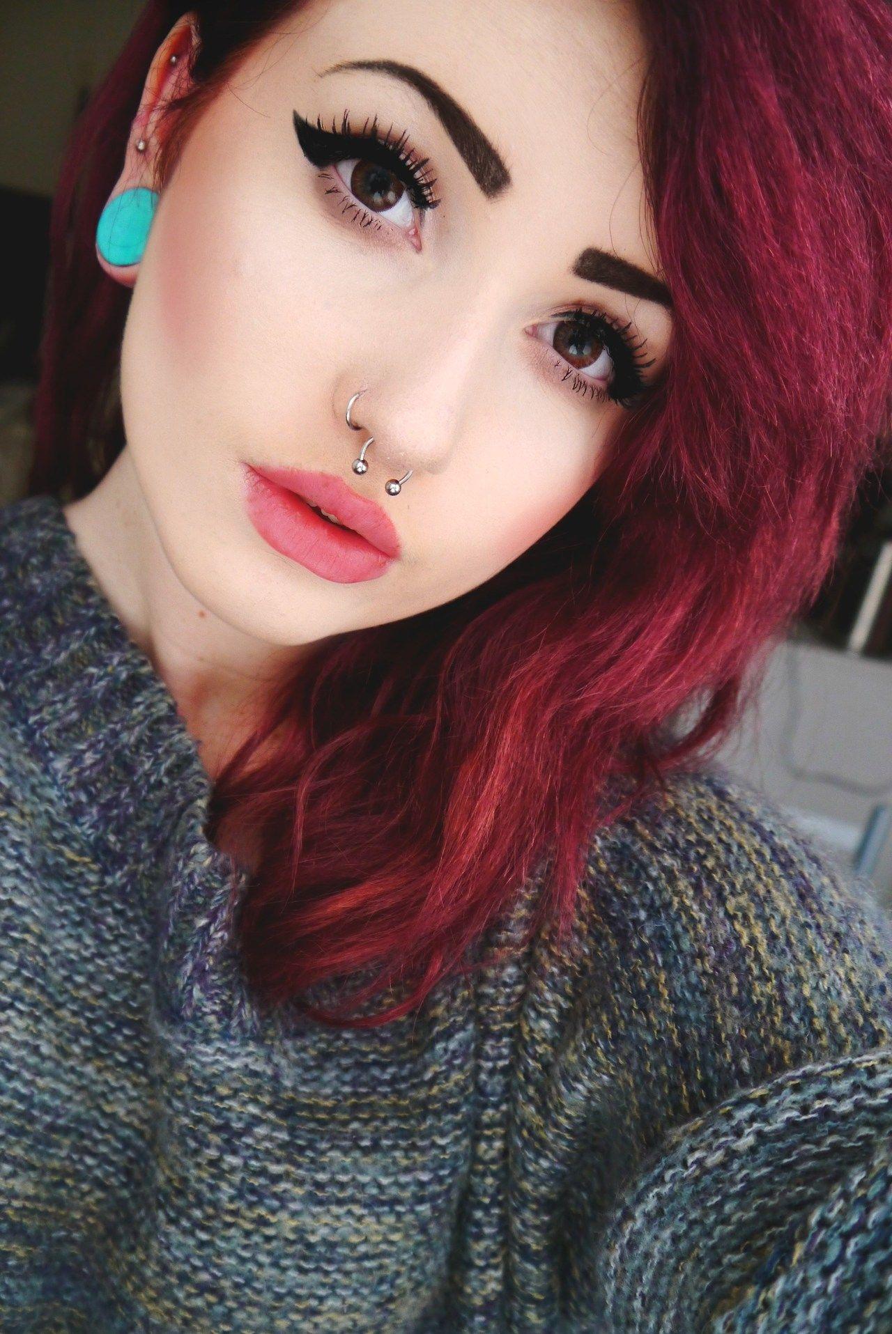 Alternative makeup inspiration neutral rose bringmetheoceans
