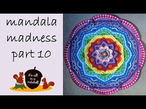 Video tutorial Mandala Madness week 10   It\'s all in a Nutshell ...