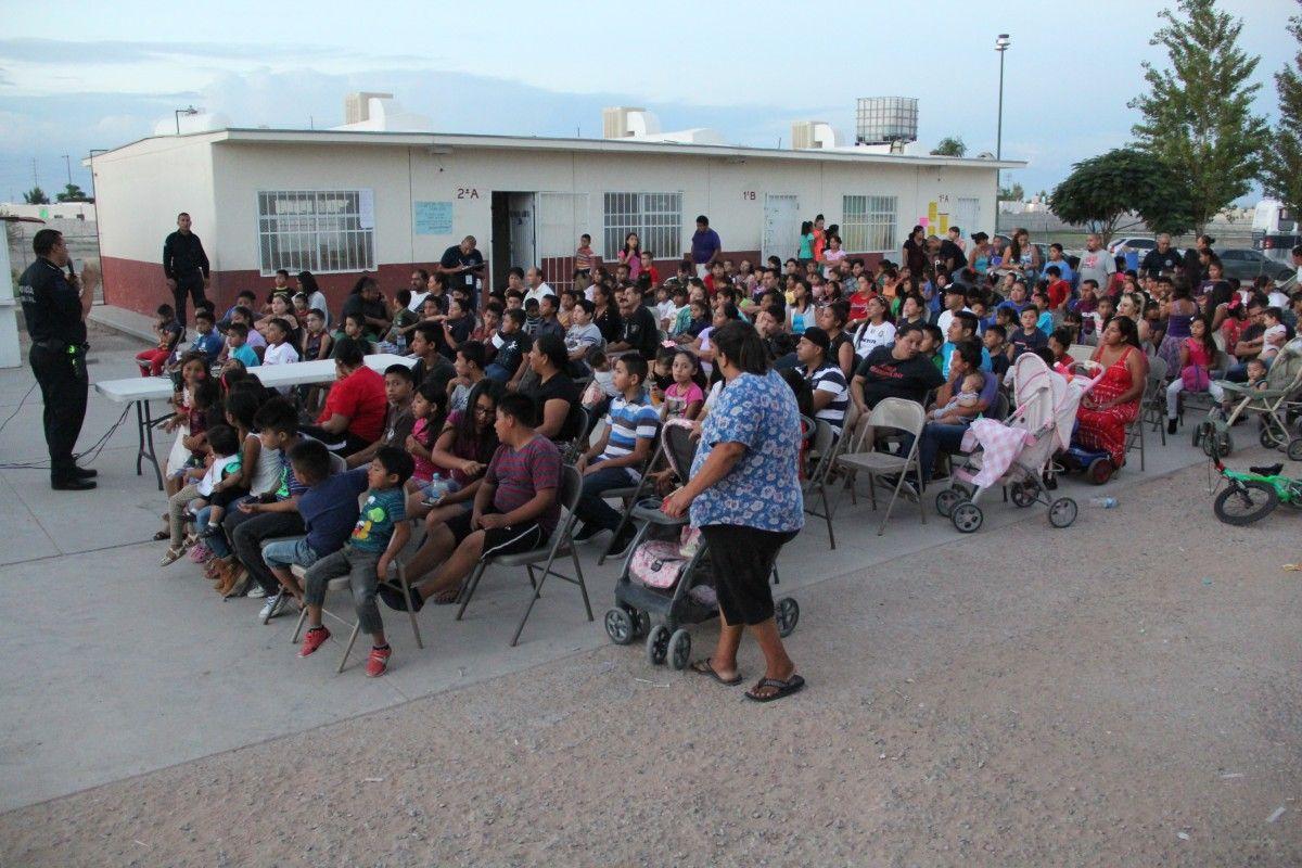 Cine comunitario de la SSPM de Juárez finaliza con éxito en Parajes de San Juan…