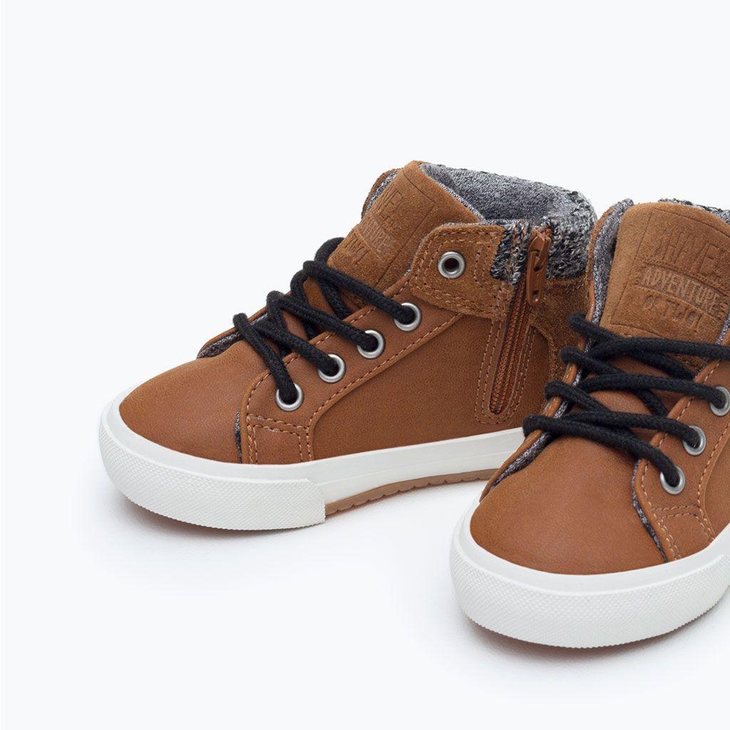 59aed854e BASKET COMBINADA CORDONES-Zapatos-Bebé niño