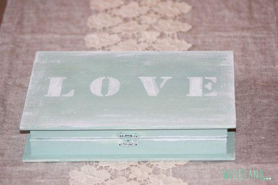 Shabby-chic ring box Book box by WhiteAndDecor on Etsy
