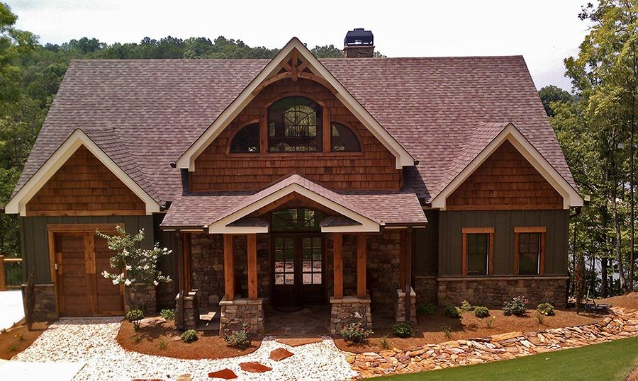 3 Story Open Mountain House Floor Plan | Mountain house ...