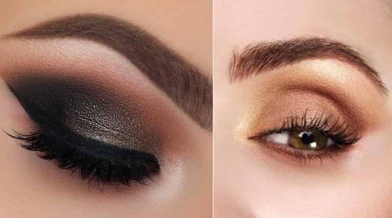 Smokey Eye Makeup 2019 مكياج عيون سموكي 2019 Makeup Glossy Eyes Beauty Face