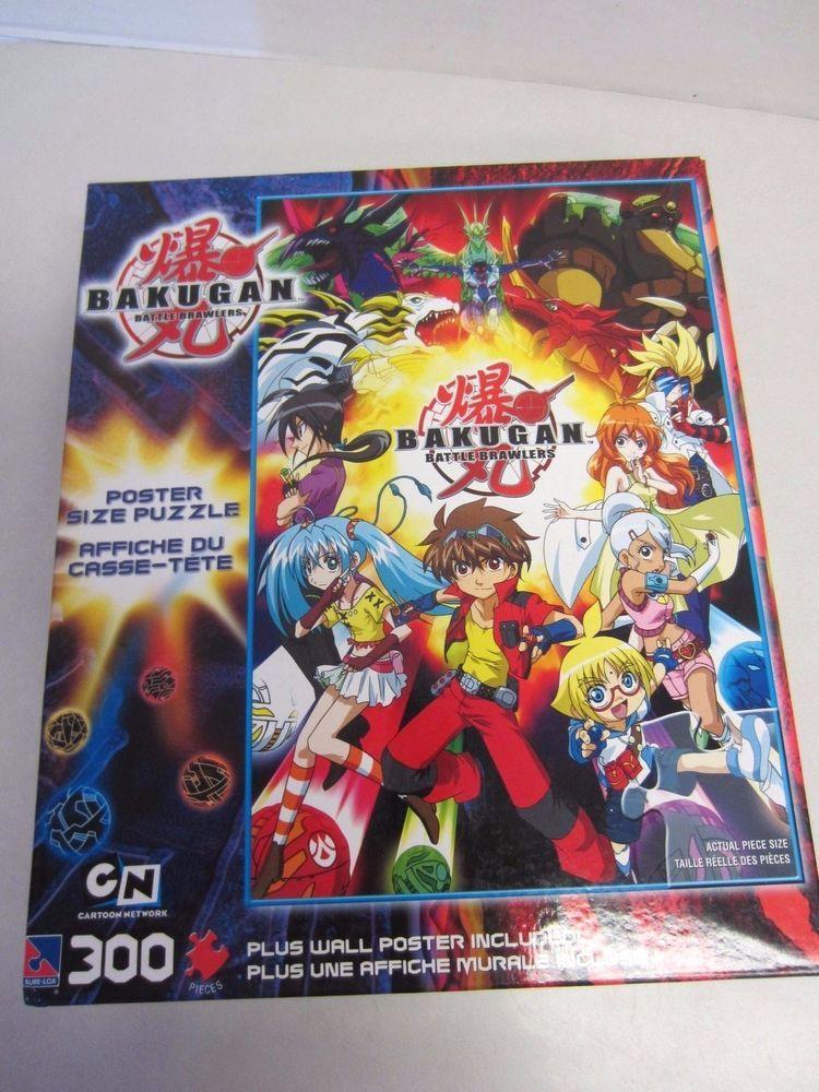 Bakugan Puzzle Battle Brawlers 300 Pieces Cartoon Network Poster