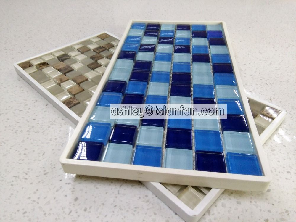 Tsianfan Mosaic Tiles Samples Display Boards Plastic Frame