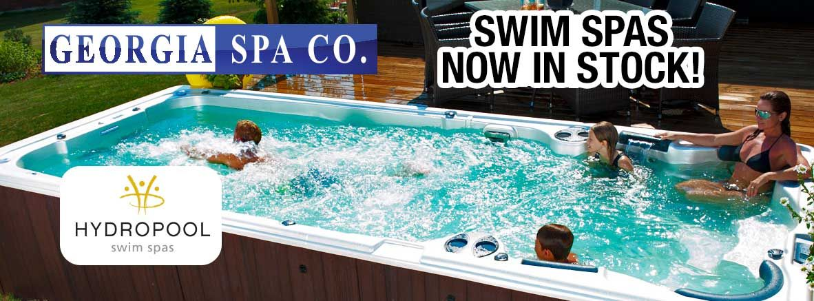 Hydropool Swim Spas are now in stock at Georgia Spa Company!