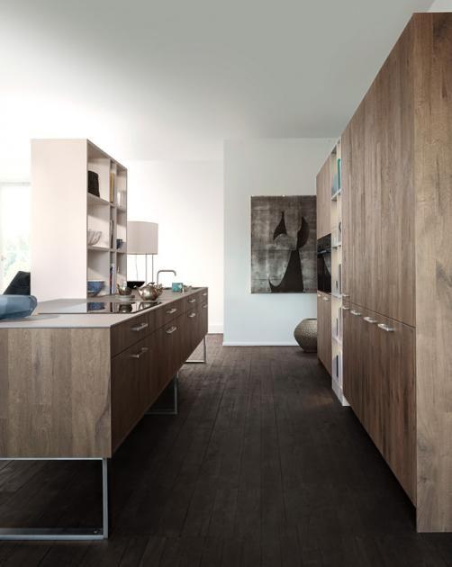 Küchen im Landhausstil Wohnlich wie ein Wohnzimmer Modern - kleine regale für küche