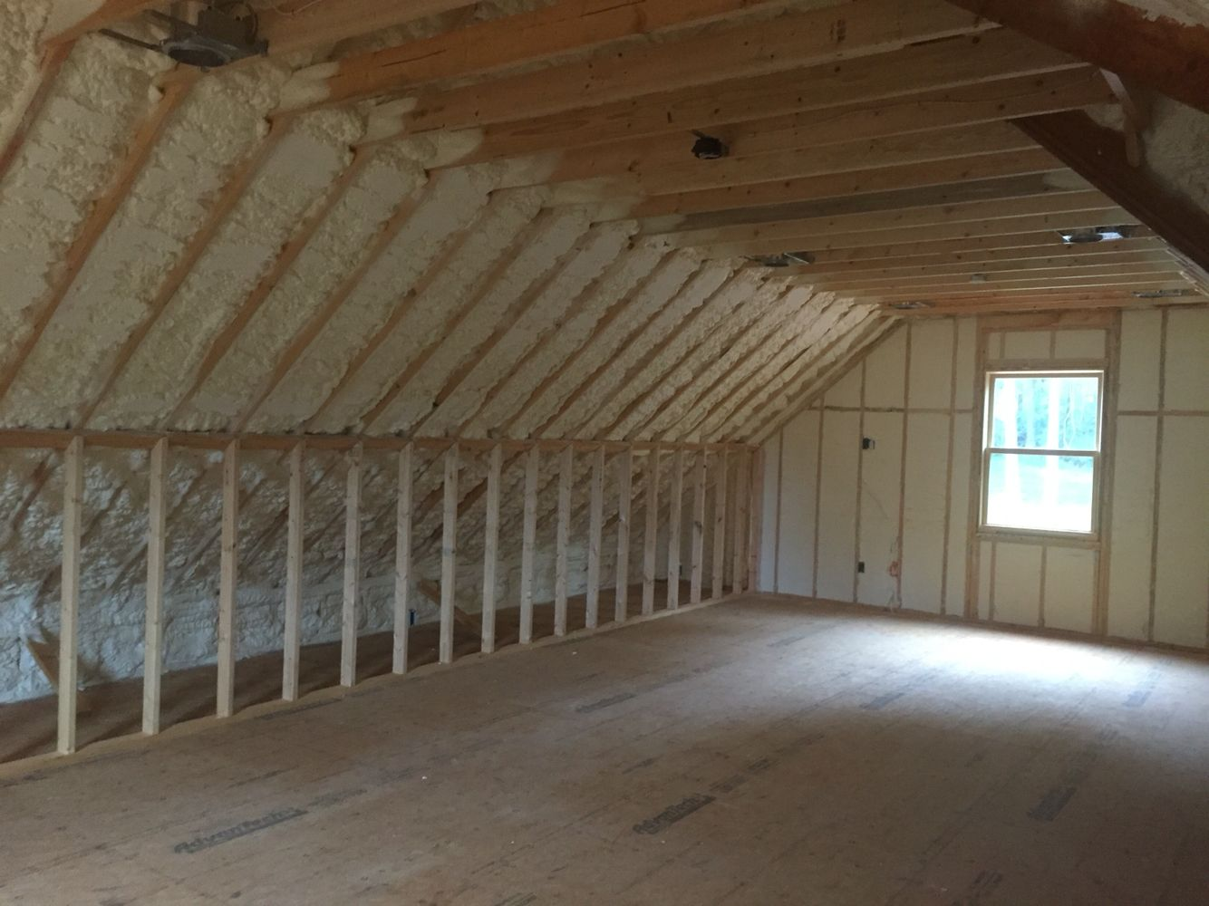 Spray foam insulation for house - Gorgeous Work Completed By Mpi Foam Using Open Cell Spray Foam Insulation Which Makes Your
