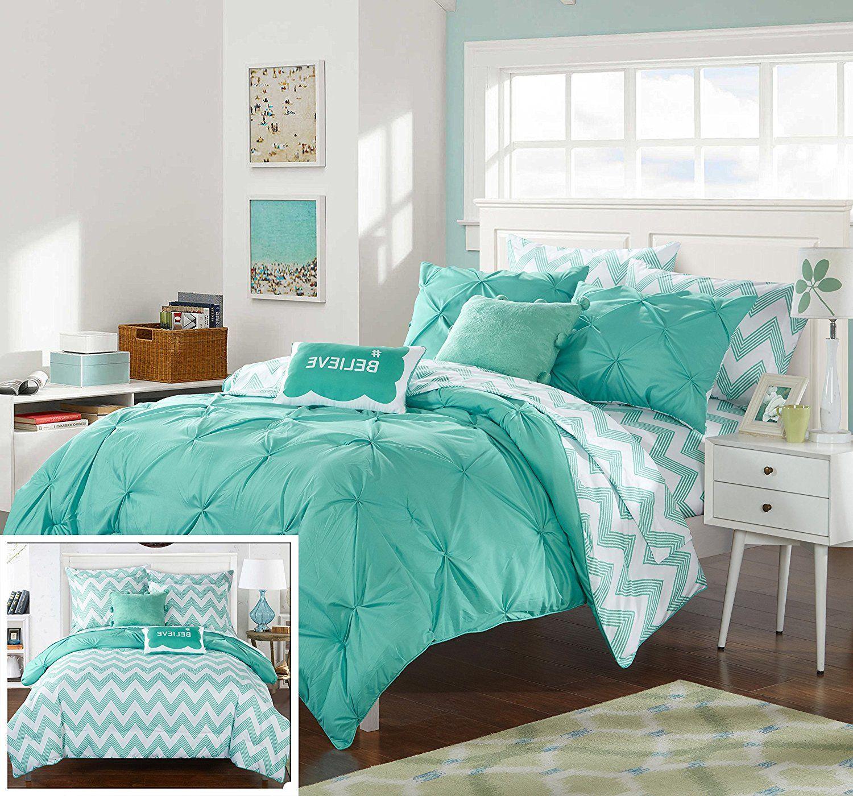 Chic Home 9 Piece Heathville Pinch Pleated Comforter Set