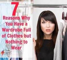7 reasons why you have a wardrobe full of clothes but nothing to wear