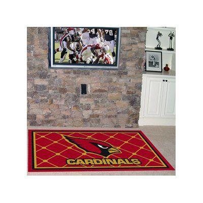 FANMATS NFL - Arizona Cardinals 5x8 Rug Rug Size: 4' x 6'