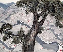 Afbeeldingsresultaat voor wu guanzhong ancient tree by the river