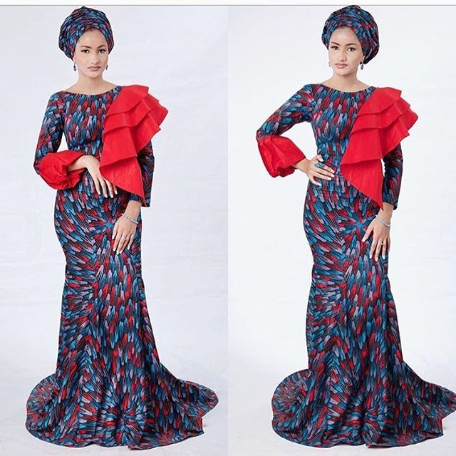 Creative Fitted Ankara Long Gowns for Beautiful Ladies...Creative Fitted  Ankara Long Gowns for Beautiful Ladies 372c9d70b