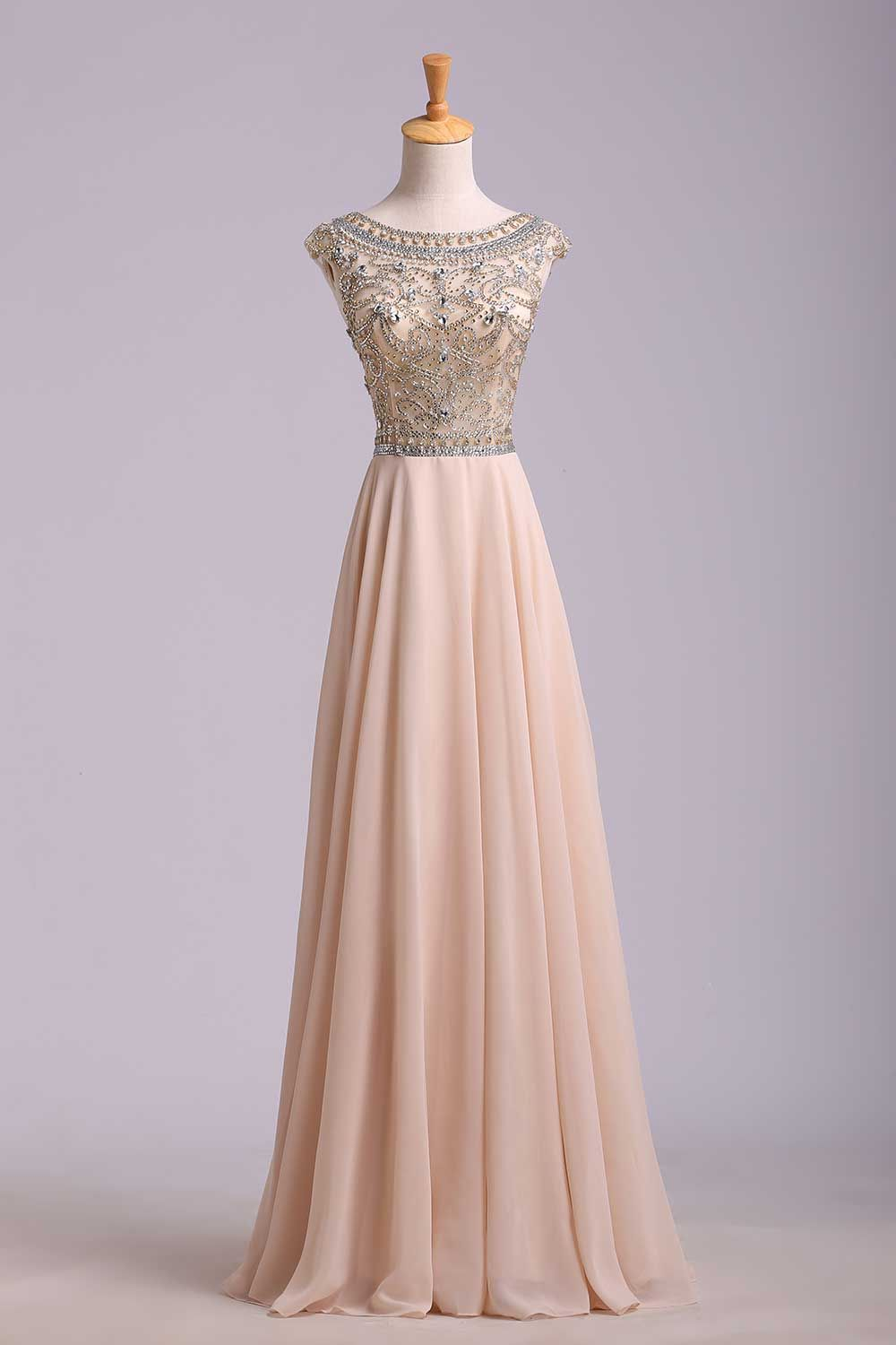 2015 Scoop Sexy Beading Long Prom Dress picture 4 | clothes ...