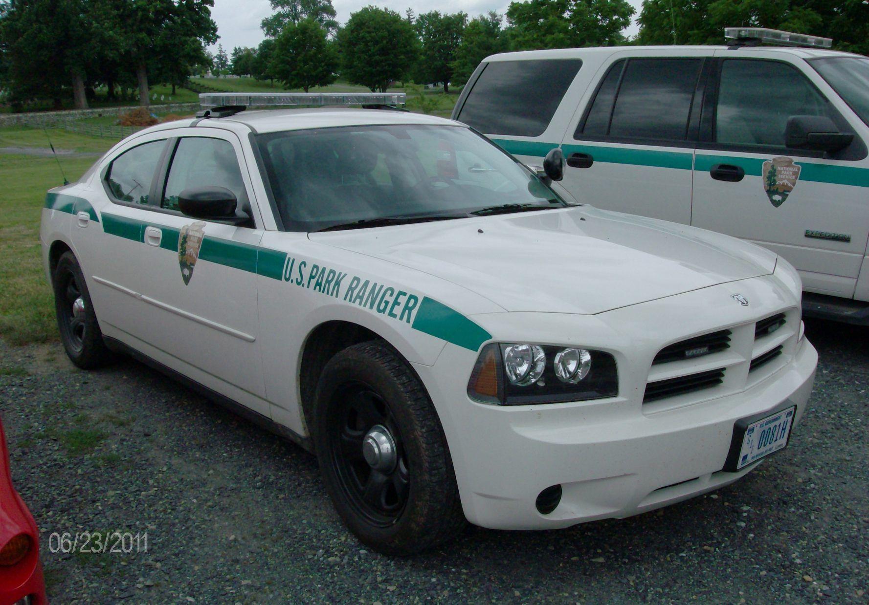 National Park Service Gettysburg Law Enforcement Ranger Police Cars Emergency Vehicles Law Enforcement