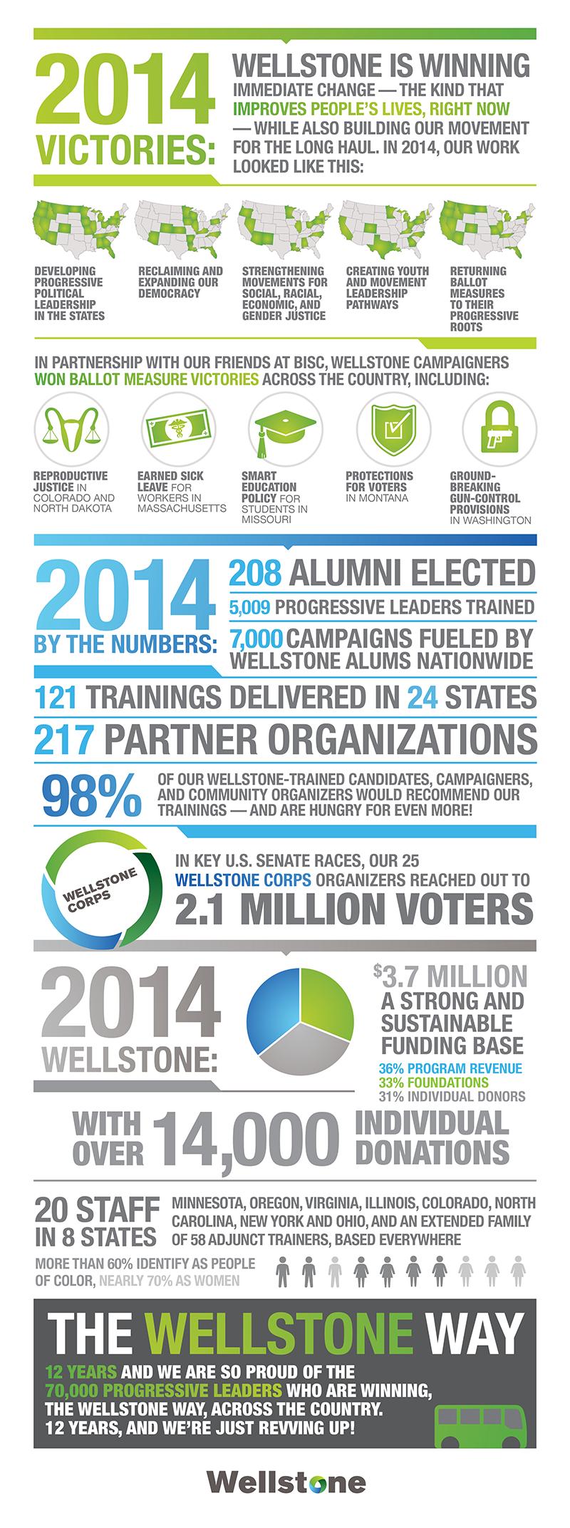 Wellstone Winning Nonprofit Annual Report Nonprofit Infographics Annual Report