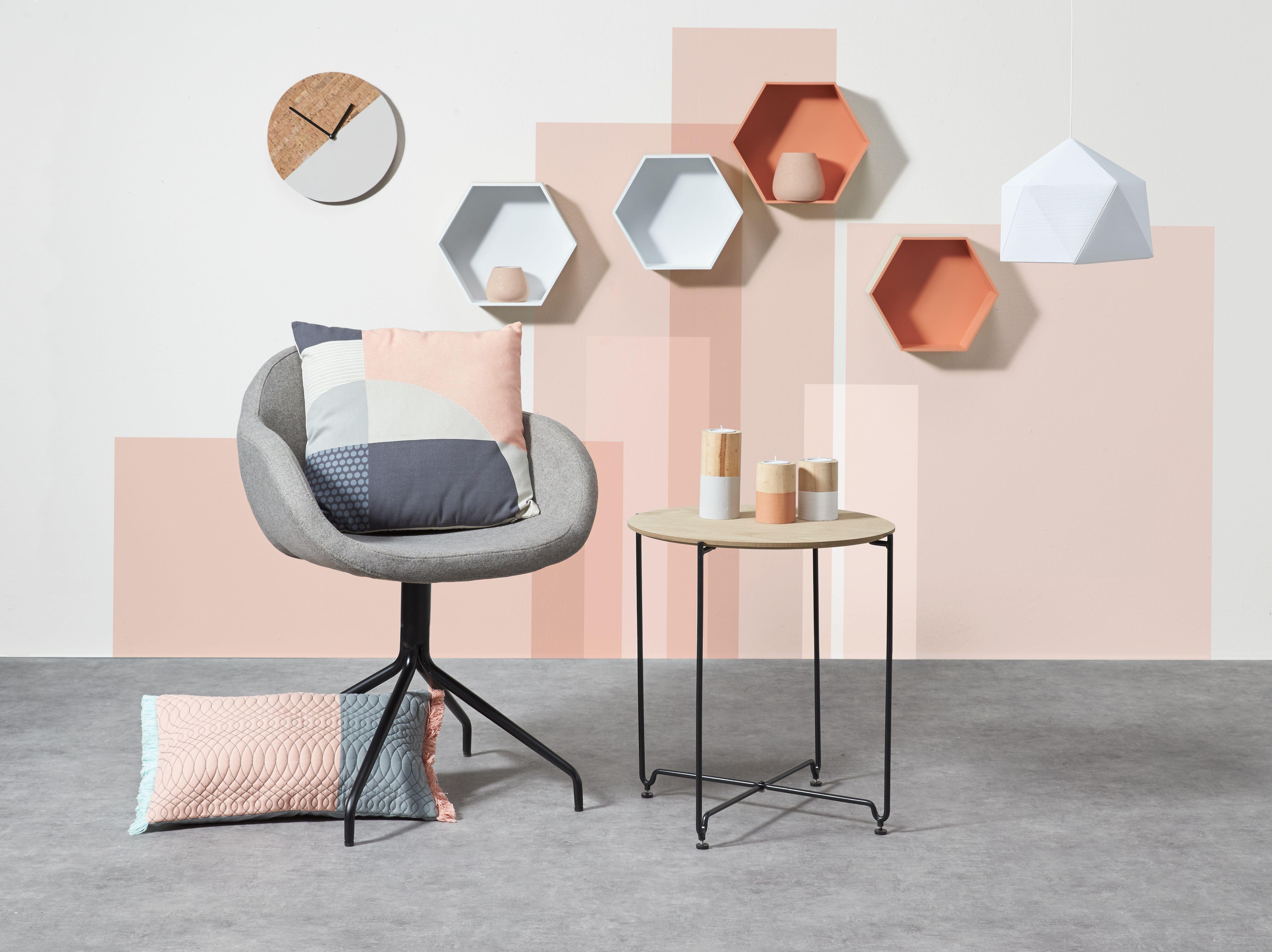 Strakke lijnen een minimalistische uitstraling en kleuraccenten