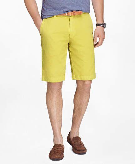 0e0f2f7676 Brooks Brothers Garment-Dyed 11 Lightweight Cotton Bermuda Shorts ...
