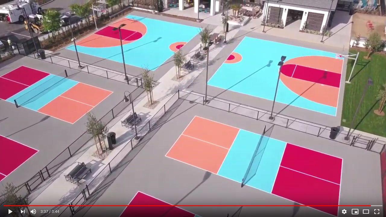 Pin on Beautiful Basketball Courts