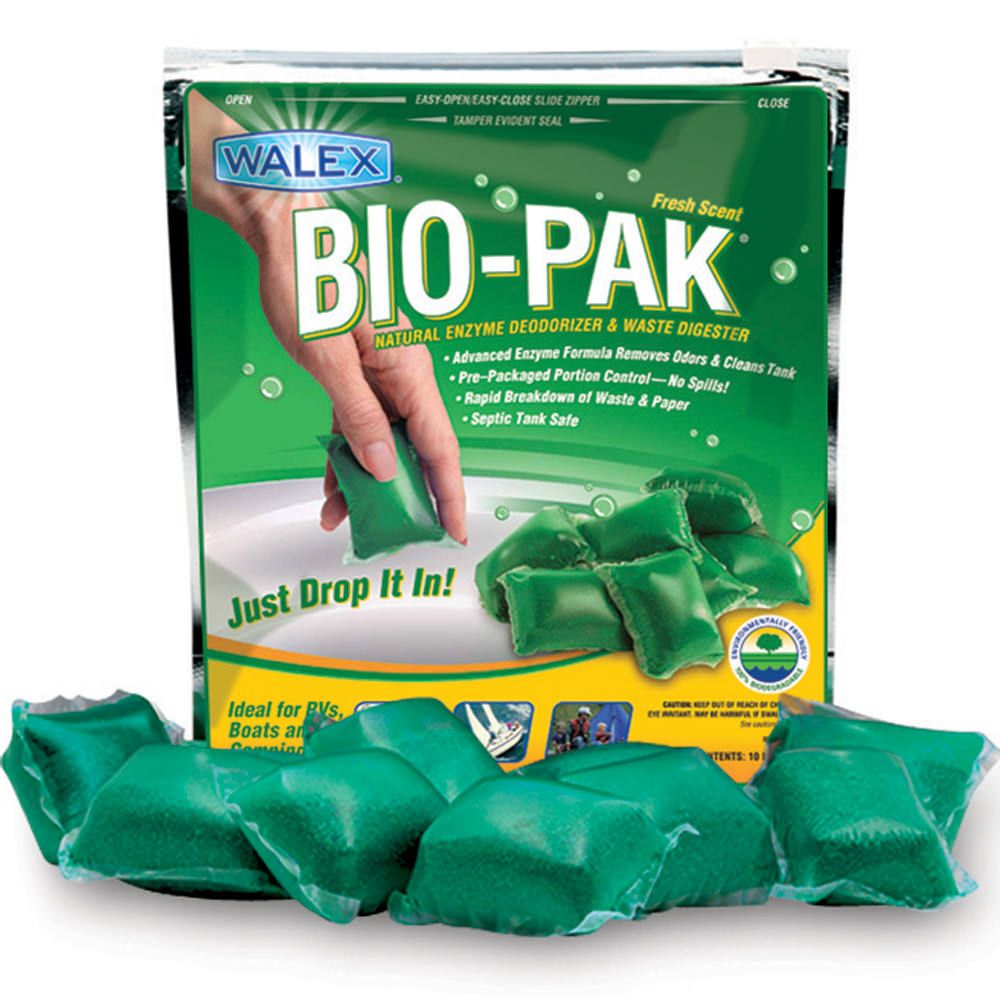 Biopak natural enzyme deodorizer paper and waste