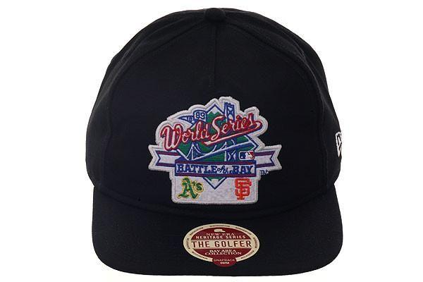 b03d48e6 New Era Heritage Series Battle of The Bay Snapback Hat - Black ...