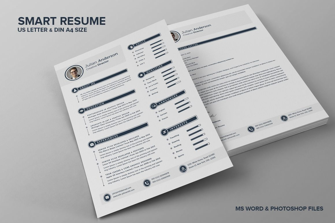Smart Resume The Smart Cv Resume  Julian