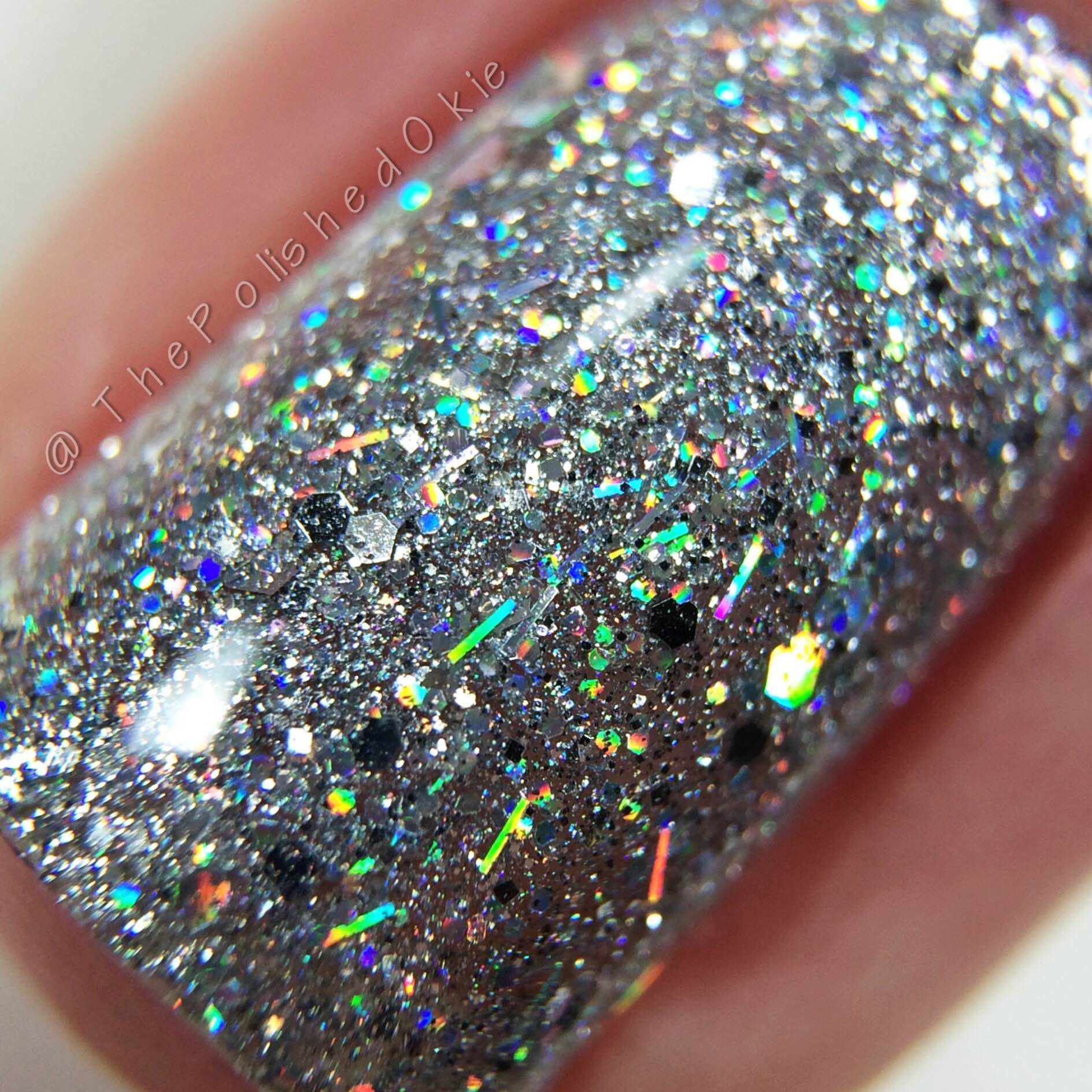 Polish \'M Silver Lining swatched by @thepolishedokie via Instagram ...