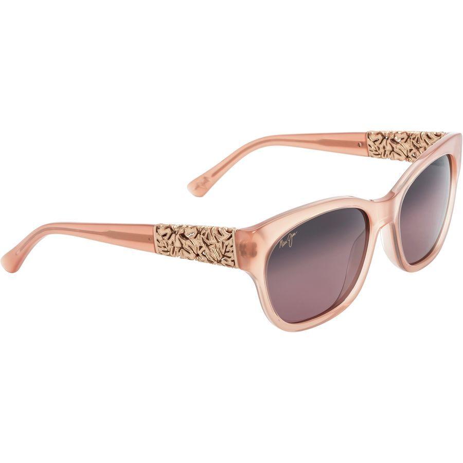 4acb10397b Maui Jim - Monstera Leaf Polarized Sunglasses - Women's - Guava Pink-Rose  Gold Monstera/Maui Rose