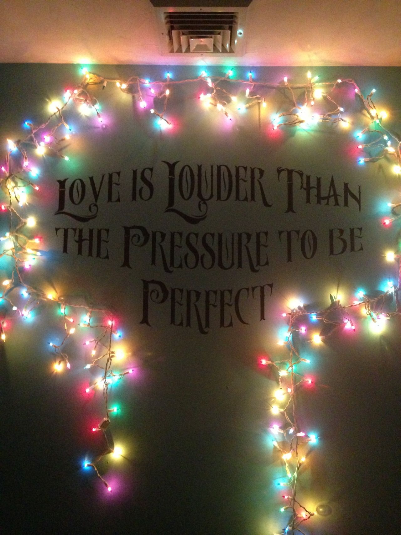 Tumblr Bedrooms With Fairy Lights Quotes Pinterest