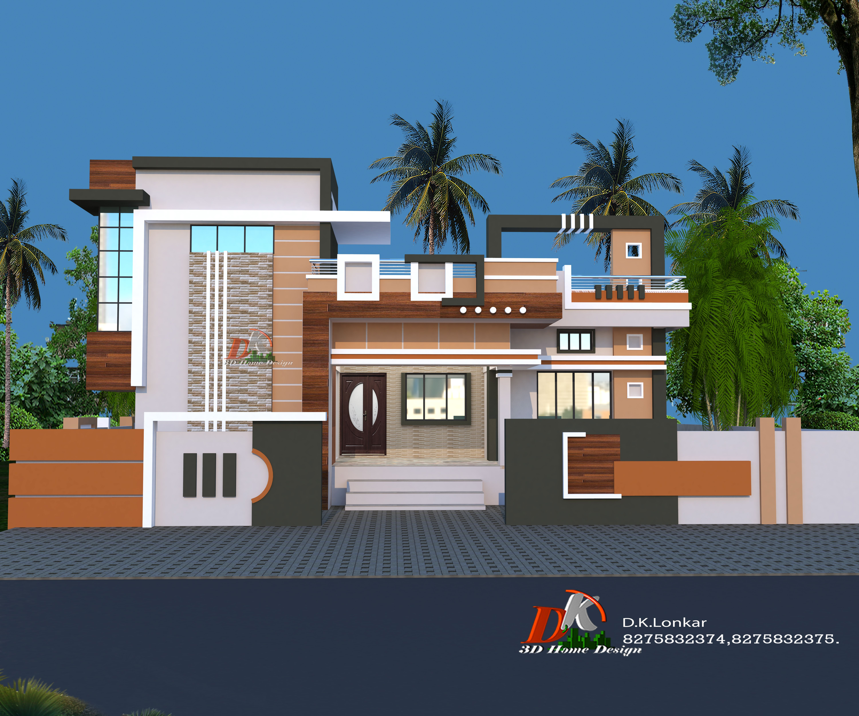 Ground Floor Home Design House Balcony Design Modern Exterior House Designs Small House Front Design