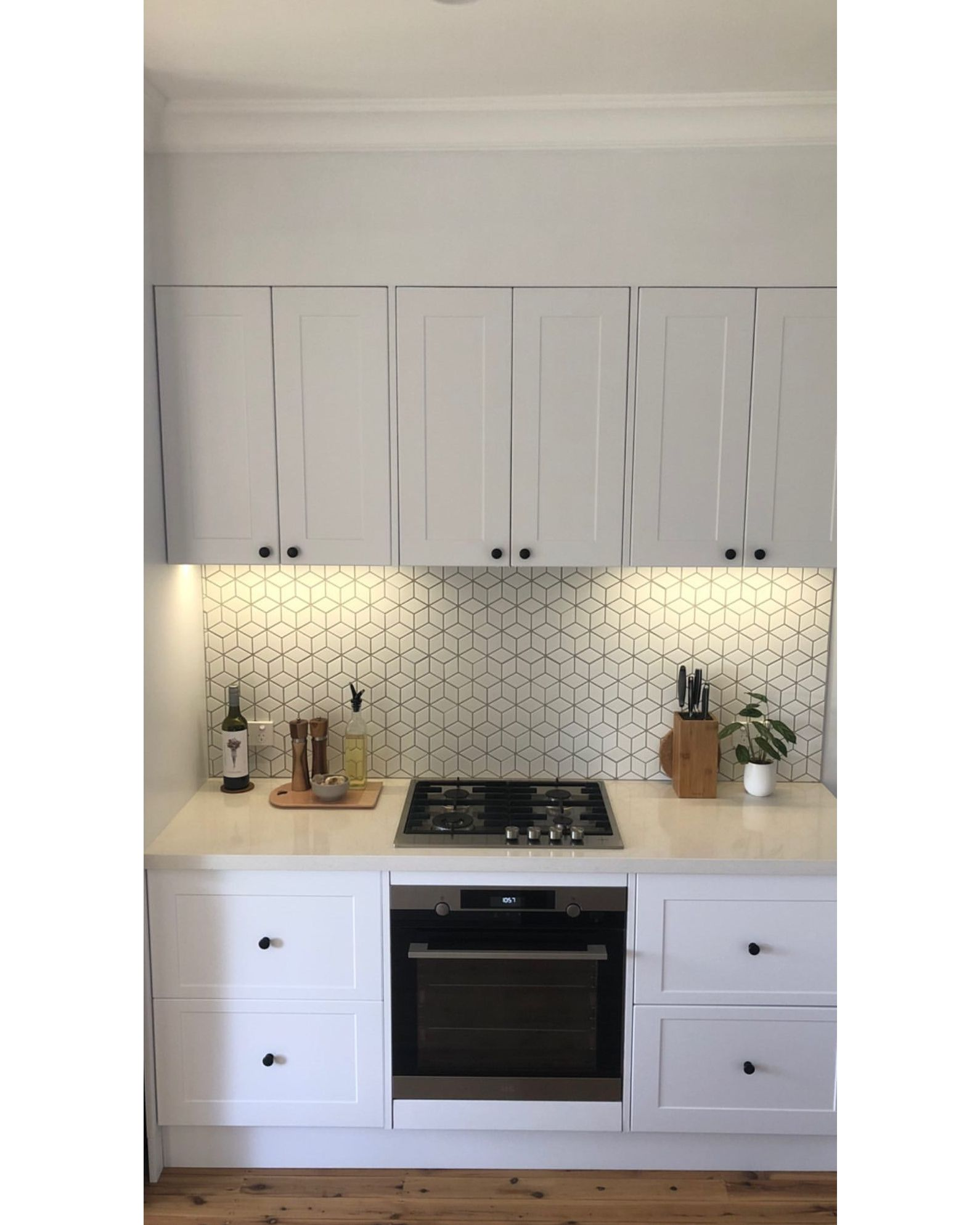 need a bit of inspo to get started on your kitchen renovation check out sarahmillen s in in on kaboodle kitchen bunnings drawers id=73158