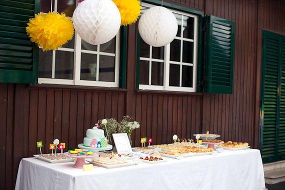 fiesta para bebs de ovejas y montaas fiestas y cumples - Fiestas Y Cumples
