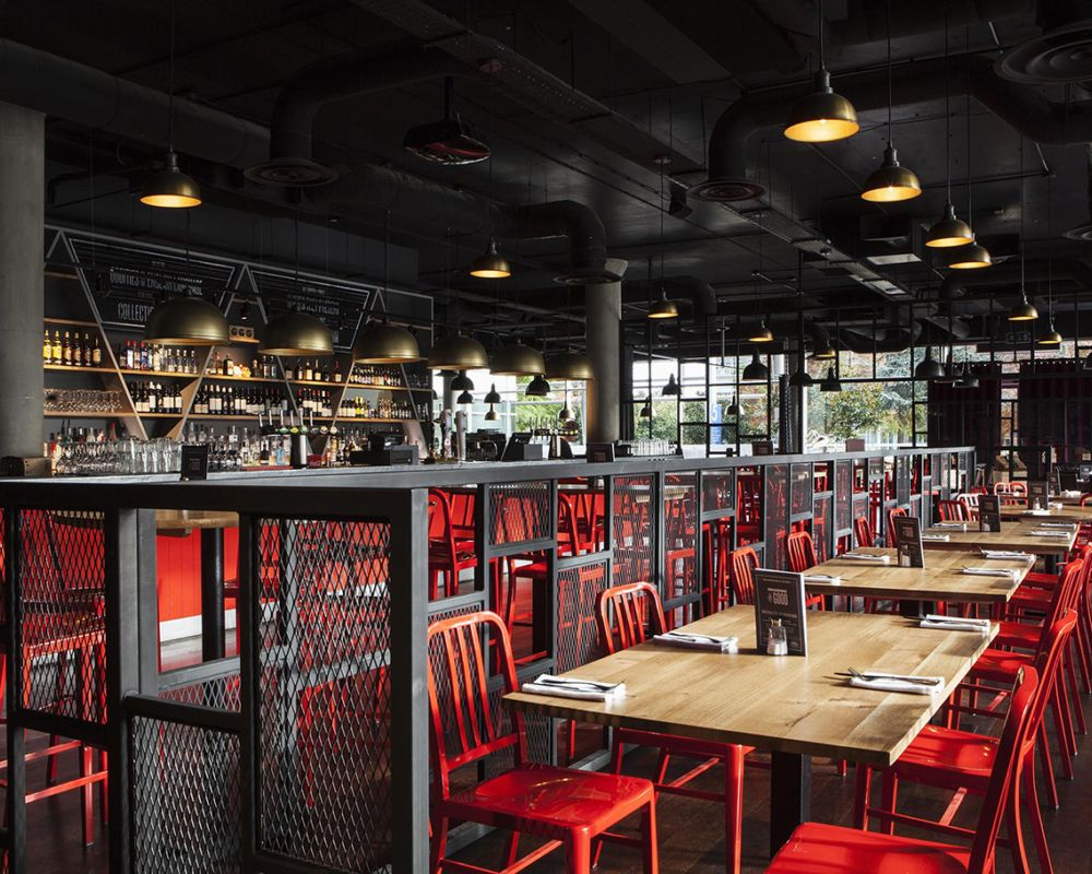 The Union Chiswick Provides A Place For Leisure In The Business