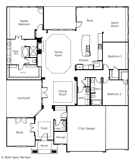 First Floor New Homes House Floor Plans How To Plan