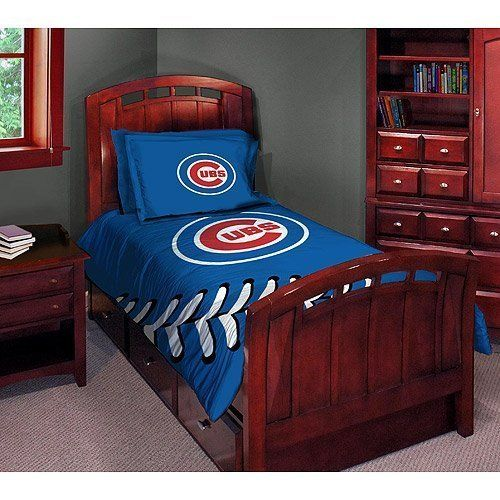 Chicago Cubs Twin Full Comforter Set By Chicago 6999 Chicago