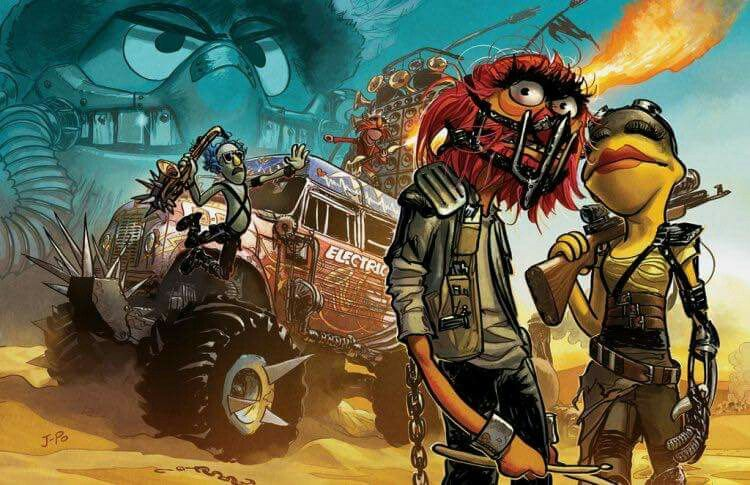 Muppets meets Mad Max