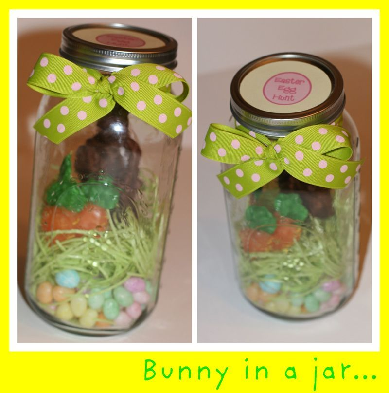 Guest post gillian all the small things chocolate bunny bunny bunny in a jar and other amazing ideas to repackage and gift easter candy negle Image collections