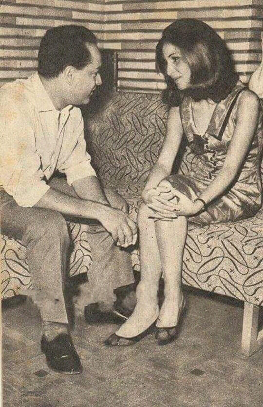 زيزي البدراوي وزوجها في ذلك الوقت المخرج عادل صادق History Sign Artist History